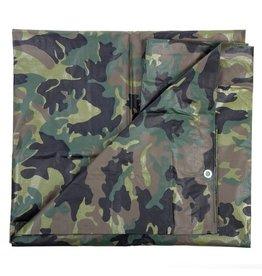 101 INC Camouflage Zeil Woodland 2,8 X 4 Meter