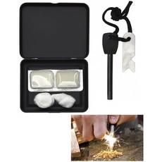 Fire Starter Set In Opbergbox Incl. Magnesium Stick