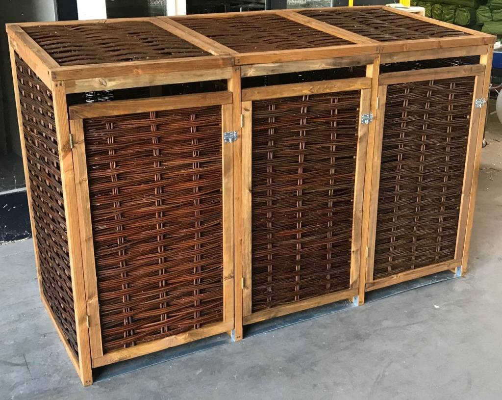 TuinChamp Container berging voor 3 containers