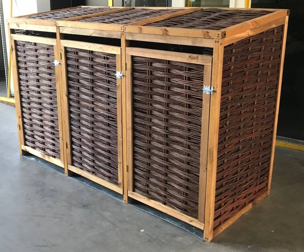 TuinChamp Container storage for 3 containers