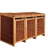 TuinChamp Container ombouw berging voor 3 containers