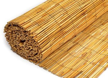Reed fence of reeds peeled 6-8 mm thick