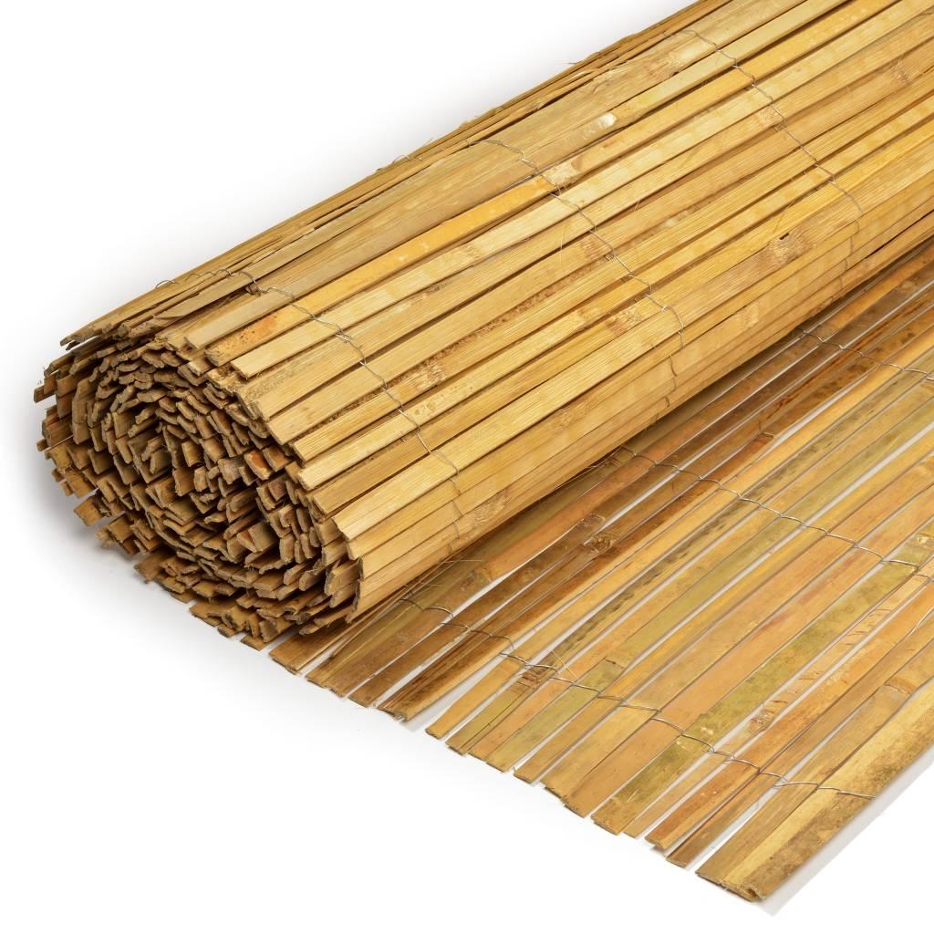 Gespleten bamboematten afbeelding