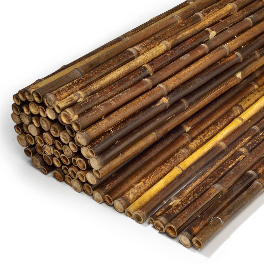 Zwarte bamboematten afbeelding