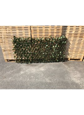 TuinChamp Willow trellis with plastic leaves