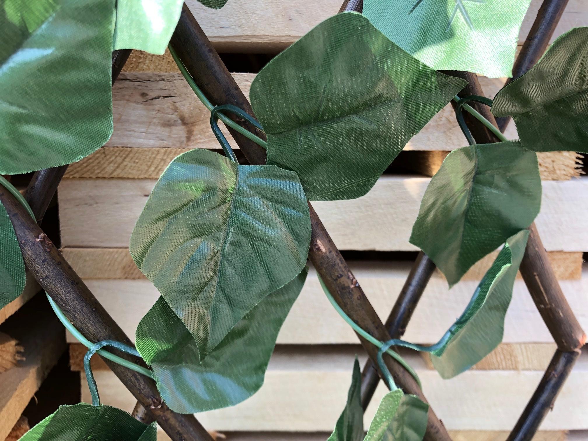 TuinChamp Wilgen trellis met kunststof bladeren