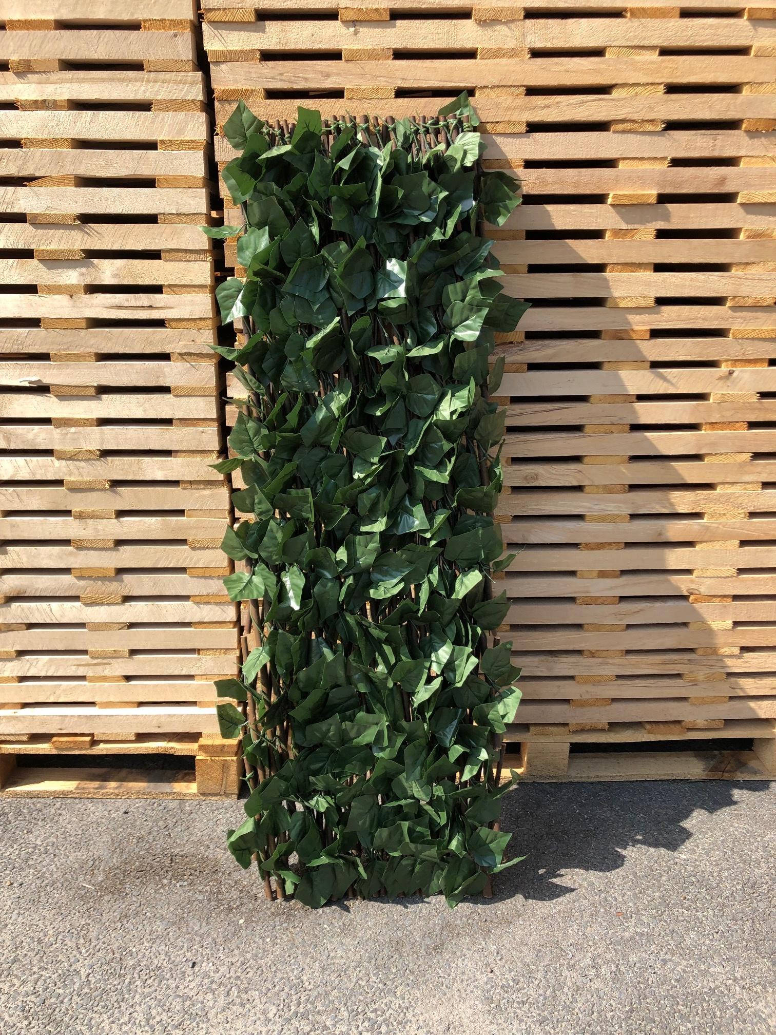 TuinChamp Willow trellis with plastic leaves