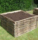 - Vegetable garden box Hazel 120x120x60 cm