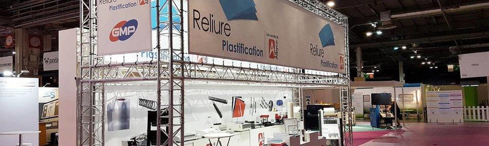ReliurePlastification au Salon Graphitec Paris Expo, Stand D20-E23