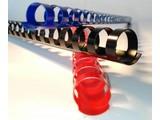 Albyco - Anneaux plastiques 8 mm (jusqu'à 40 feuilles)