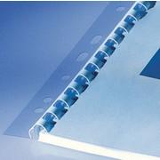 Albyco - Bandes de classement pour anneaux plastique 21 boucles