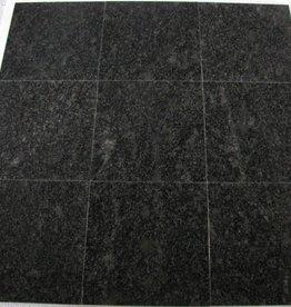 Steel Grey Granitfliesen Poliert Gefast Kalibriert 1.Wahl in 30,5x30,5x1cm