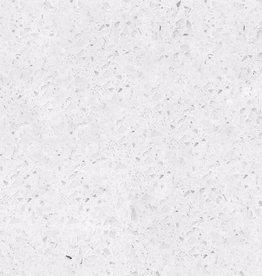 Starlight White quartz stone composite poli, chanfrein, calibré, qualité Premium, 1. Choice dans 60x30x1 cm