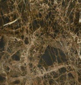 Emperador Maron Vloertegels Gepolijst, Gekalibreerd, 1.Keuz in 80x80x1,1 cm