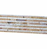 Brickstone Sandstone Wooden Slim Naturstein Verblender Wandverblender
