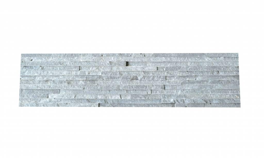 Briques mur de pierre Brickstone Grey Slim