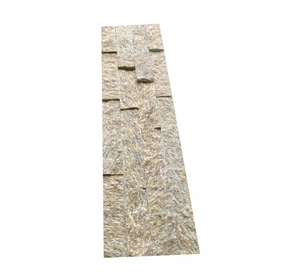 Briques mur de pierre Brickstone Tiger Yellow