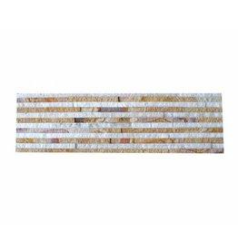 Brickstone Sandstone Wooden Slim Naturstein Verblender Wandverblender 1. Wahl in 55x15 cm