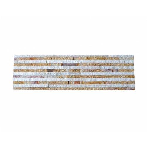 Brickstone Sandstone Wooden Slim cegły kamienia naturalnego