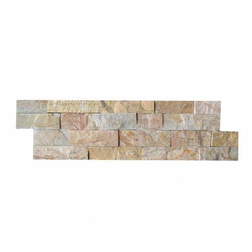 Briques mur de pierre Quarzit Brickstone New Beige