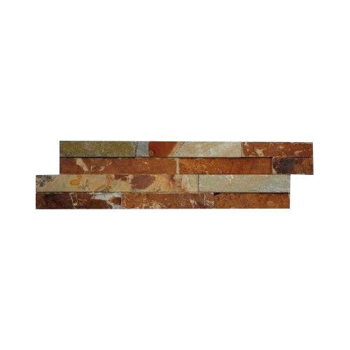 Wall bricks stone panels Multicolor Slate