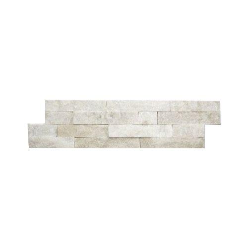 Briques mur de pierre Quarzit Brickstone White