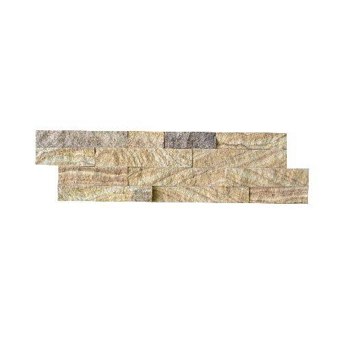 Wall bricks stone panels Bronce Gold