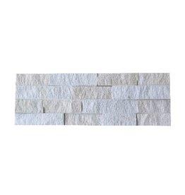 Neapel White kamienia naturalnego 1 Wybór w 55x15 cm