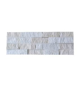 Wall bricks stone panels Neapel White 1. Choice in 55x15 cm