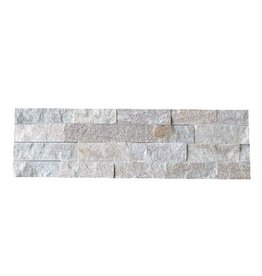 Rock Creme Nauursteen Steenstrips 1. Keuz in 55x15 cm