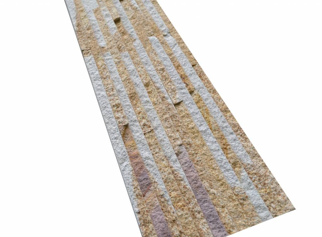 Wall bricks stone panels Sand Creme