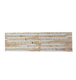 Sand Creme Naturstein Verblender Wandverblender 1. Wahl in 55x15 cm