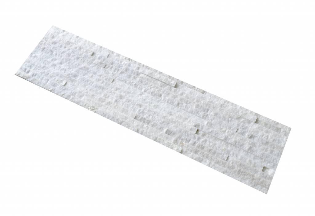 Briques mur de pierre White Slim