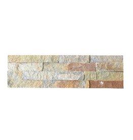 Briques mur de pierre Rustic 1. Choice dans 55x15 cm