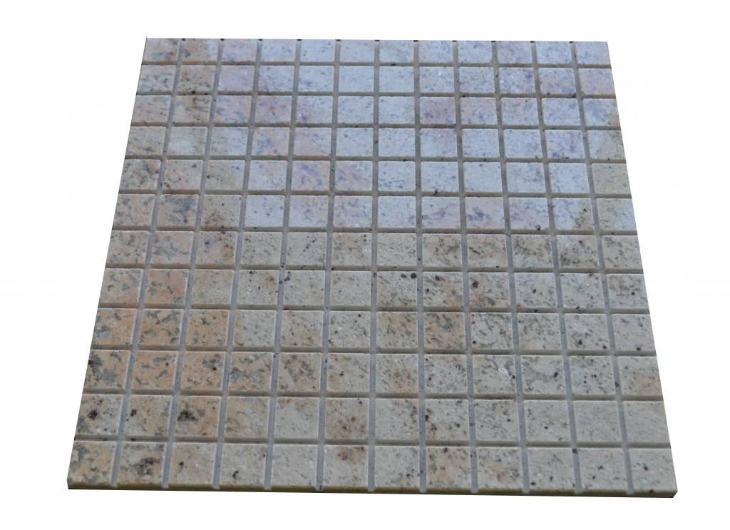 Ivory Brown Granit mozaïek tegels