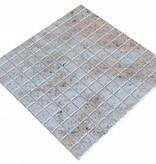 Ivory Brown Granit mosaic tiles