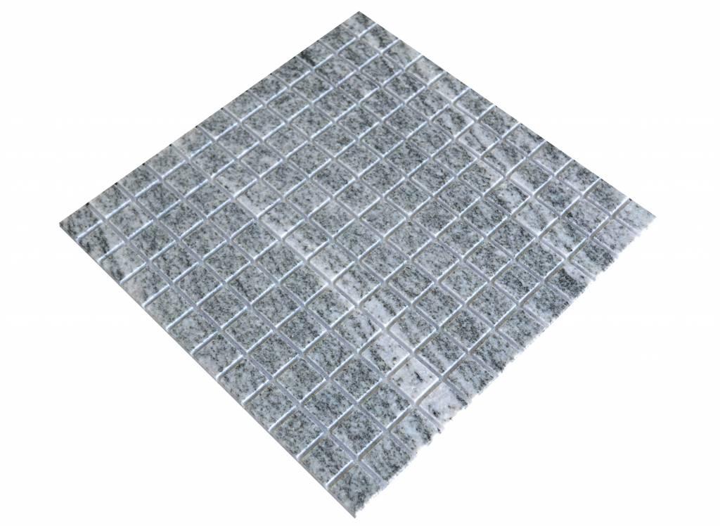 Juparana Grey Granit mosaic tiles