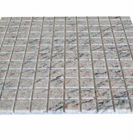 Mera White Granit Mosaïque Carrelage 1. Choice dans 30x30 cm