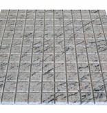 Mera White Granit mosaic tiles
