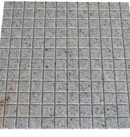 New Kashmir Cream Granit Mosaikfliesen 1.Wahl in 30x30 cm