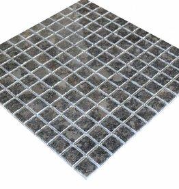 Steel Grey Granit Mosaïque Carrelage 1. Choice dans 30x30 cm