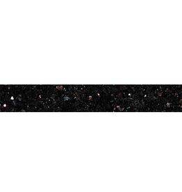 Black Star Galaxy Granitsockel, Poliert, Gefast, Kalibriert, 1. Wahl
