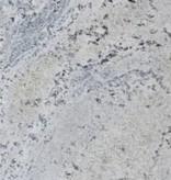 Kashmir White Scuro Granietbasis, gepolijst, geconserveerd, gekalibreerd, 1. Keuz