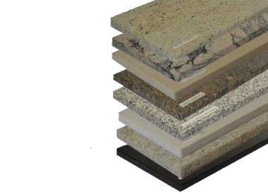 Parapet z kamienia naturalnego