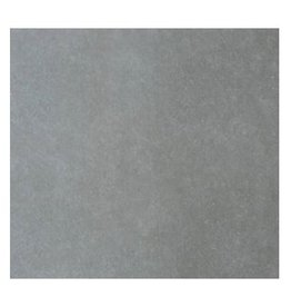 Dark Grey Floor Tiles in matt, chamfered , calibrated, 1.Choice in 100x100 cm