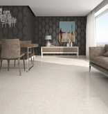 Floor Tiles Travertino Blanco