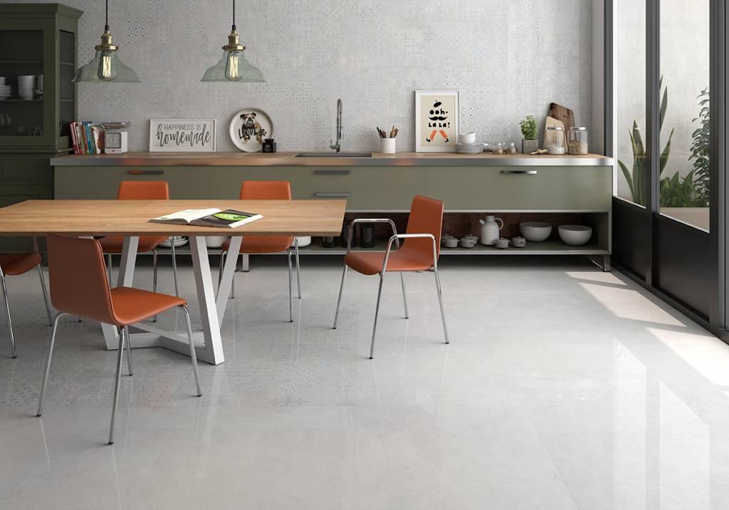 Floor Tiles Revoque Deco Marfil