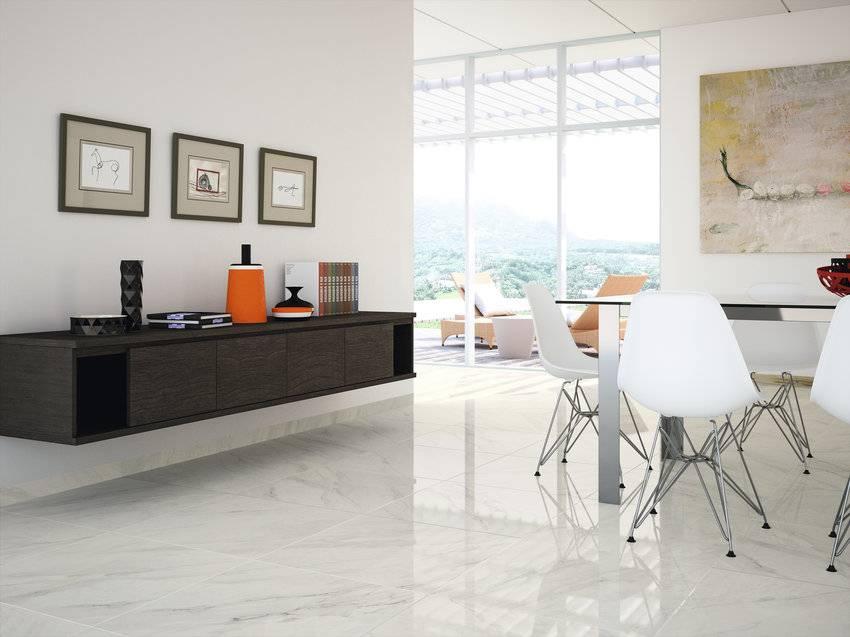Floor Tiles Calacatta