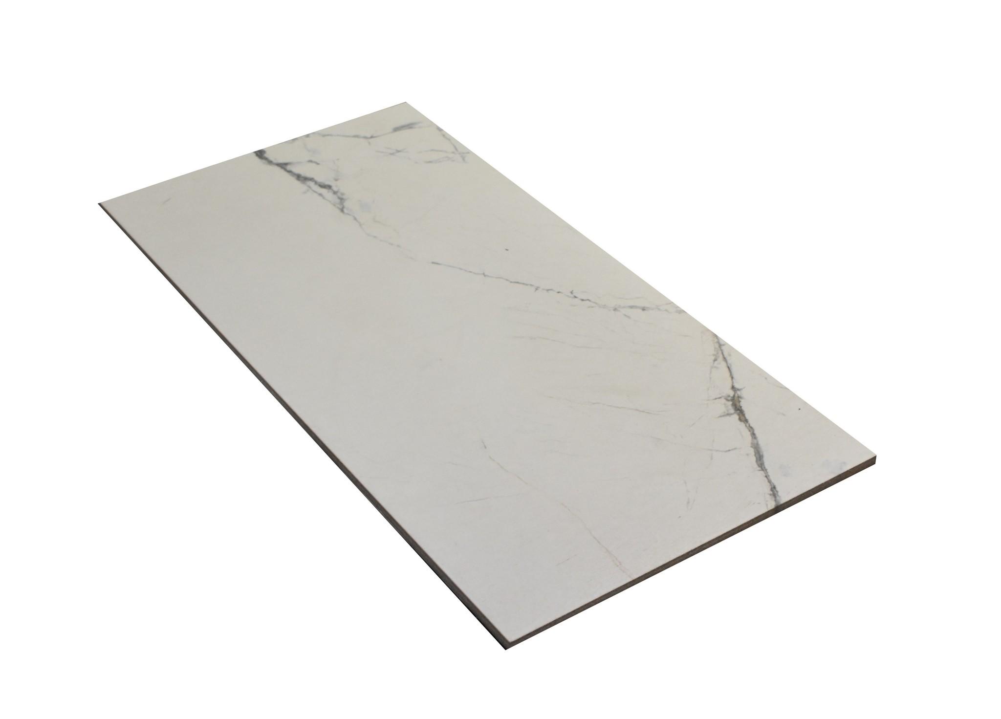 Invisible White Płytki podłogowe
