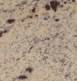 New Kashmir Gold Dalles en granit poli, chanfrein, calibré, 1ère qualité premium de choix dans 61x30,5x1 cm